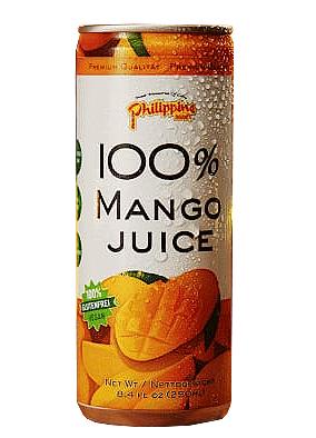 100% Mango Saft- vegan und glutenfrei - 250ml