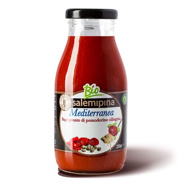 Tomatensauce Mediterranea - vegan und bio - 250g