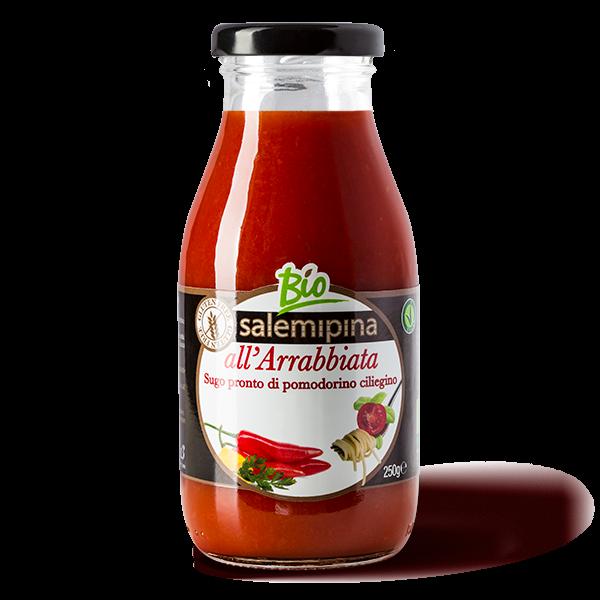 Tomatensauce Arrabbiata - bio & vegan - 250g