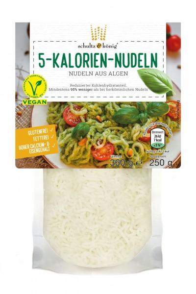 5 Kalorien Nudeln 250g