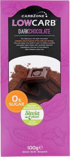 Dunkle Schokolade - low carb 100g