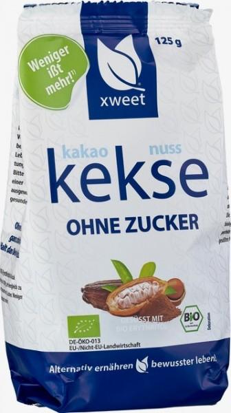 Kakaonuss Kekse - Ohne Zucker - 125g