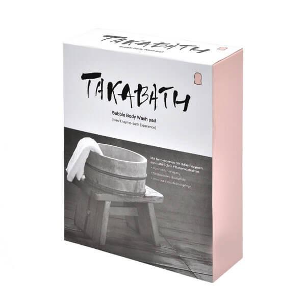 Takabath Bubble Body Wash Pad Box - 10 St