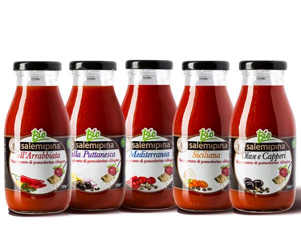 Tomatensauce Set - vegan & bio - 5x250g