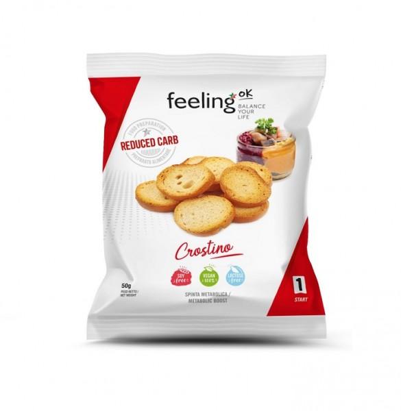 Protein Crostino geröstete Brotchips - low carb - 50g