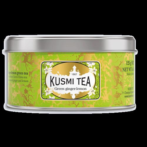 Grüner Tee Ingwer Zitrone 125g