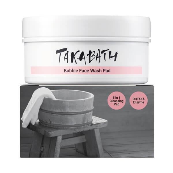 Takabath - Bubble Face Wash Pad Tiegel - 20 St